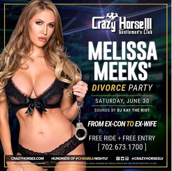 'From Ex-con to Ex-Wife' - Hot Felon' Jeremy Meeks' ex- Melissa Meeks releases poster for her divorce party