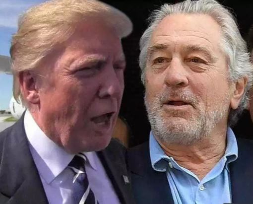 President Trump replies Robert De Niro, says?