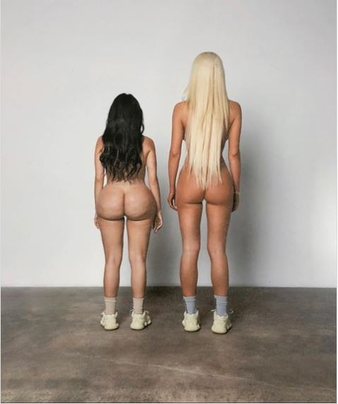 Kanye West shares slew of racy images including naked photos of his models as he unveils new Yeezy campaign 18+