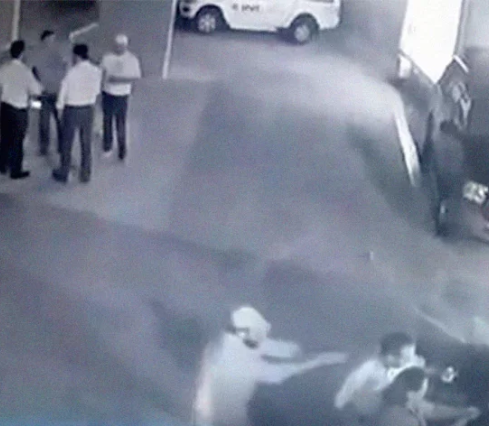 Shocking video shows the moment Mexican politician was assassinated after an electoral debate (Watch)
