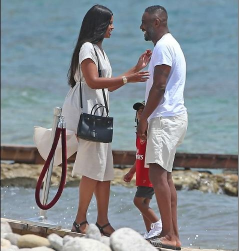 Idris Elba spends family time with fianc?e Sabrina Dhowre and his son Winston in Ibiza (Photos)