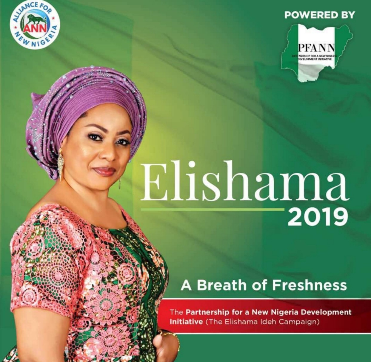 Dr. Elishama Rosemary Ideh becomes the second woman to join the race to run for President in 2019
