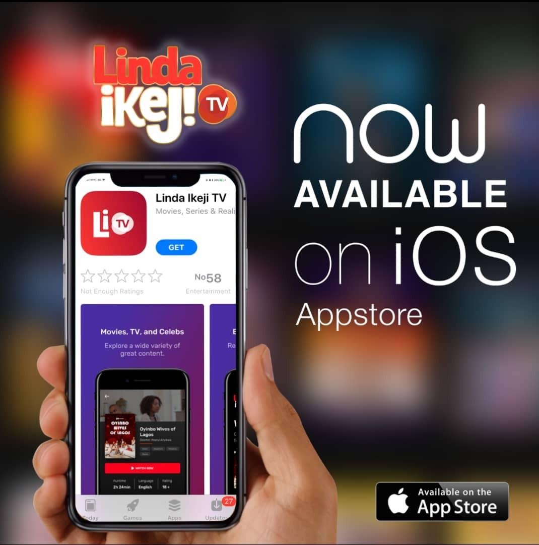 Linda Ikeji TV On IOS Apple App Store
