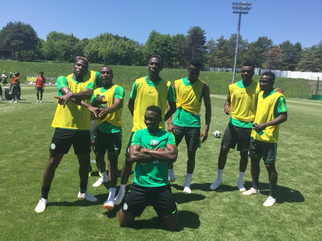 World Cup 2018: Super Eagles squad look fit and ready as they wrap up training session (Photos)