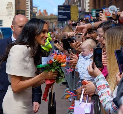 "Meghan Markle gushes over Prince Harry as she tells fans ""he"