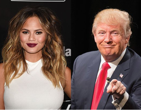 "Chrissy Teigen wishes Trump a happy 72nd birthday by slamming him for ripping families apart due to his ""inhumane policies"""