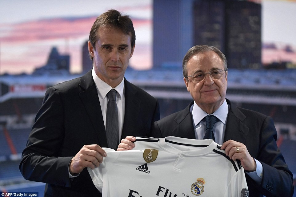 5b22b69cbe547 - 'As we speak is the happiest day of my life' - Sacked Spain coach, Julen Lopetegui says as Real Madrid unveils him as subsequent manager