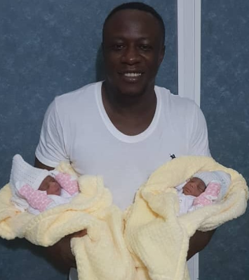 Photo: Singer Chuddyyk welcomes set of twins