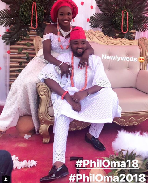 Photos from the traditional wedding of actor Chuks Omalicha