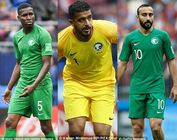 #WorldCup2018: Saudi Arabia names three players who will face