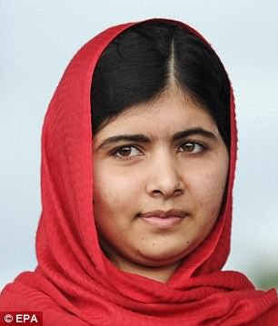 "Malala is avenged as Pakistani Taliban leader who ordered her shooting in 2012 is ""killed in a U.S. airstrike in Afghanistan"""