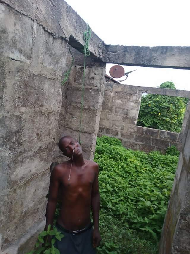 Graphic: Man commits suicide in Delta State allegedly because he couldn