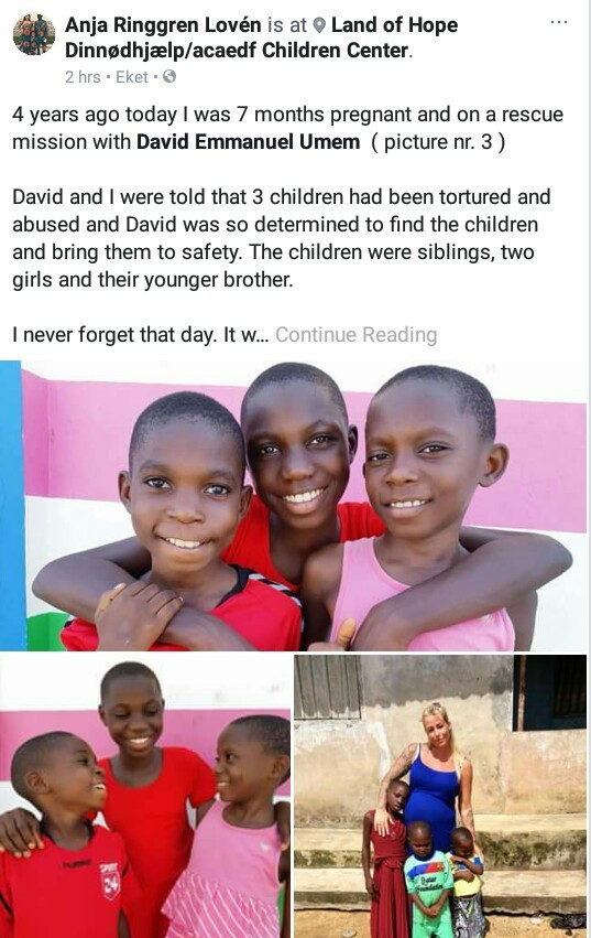 Photos: Amazing transformation of three children tortured and abused in Akwa Ibom after being branded witches
