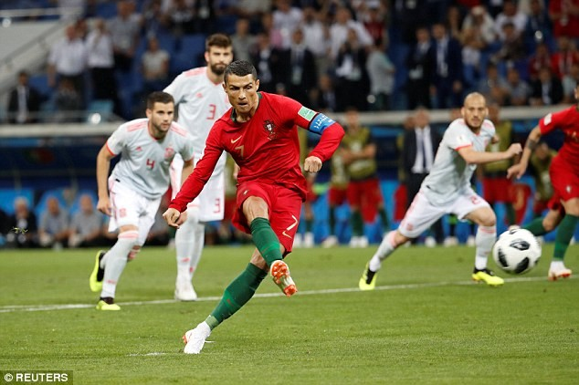 WorldCup 2018: Cristiano Ronaldo scores brilliant hat-trick against Spain, becomes the first player to score at eight major international tournaments?