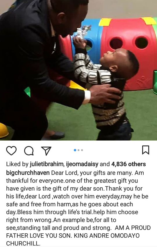 Tonto Dikeh wishes herself a happy Father