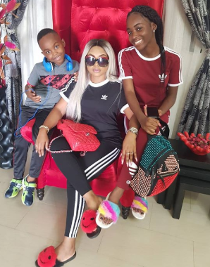 Mercy Aigbe wishes herself a Happy Fathers day, calls out deadbeat dads and sperm donors