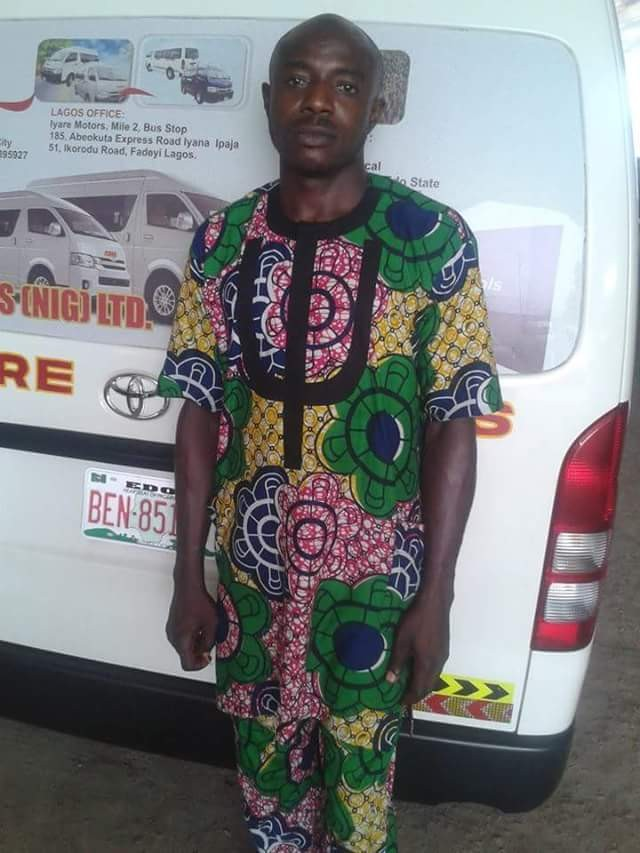 Photos of driver of the ill-fated bus involved in fatal crash, killing Edo indigenes returning from Spain