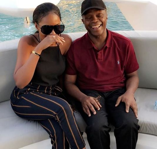 Kiki Osinbajo shares cute photo with her dad to celebrate Father