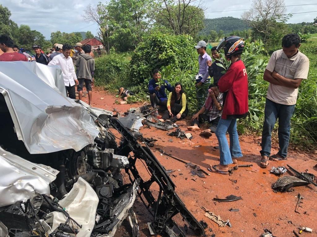 Former Cambodian Prime Minister Ranariddh injured in car crash, wife killed