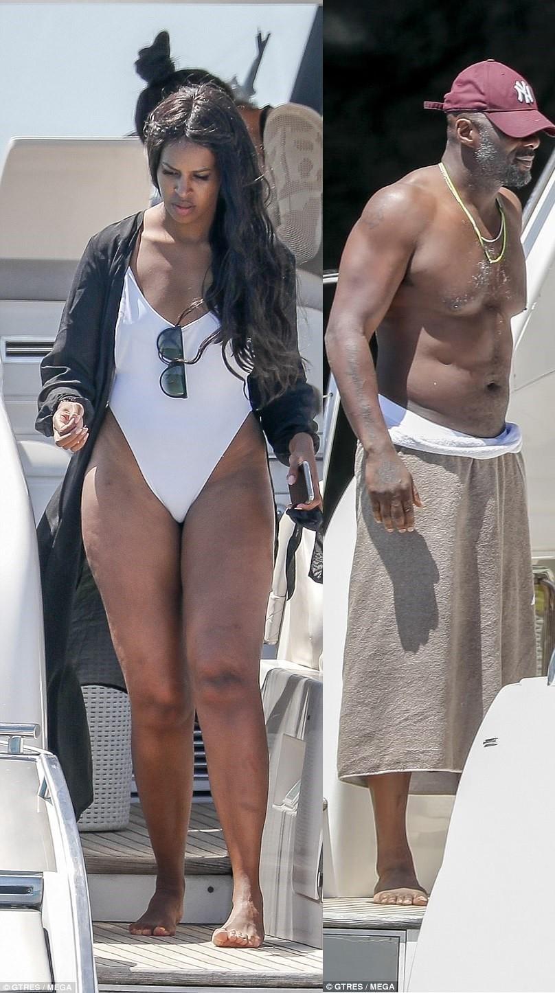 Idris Elba and his fianc?e Sabrina can