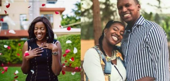 """Goodbye my beautiful purple flower""- Fianc? of beautiful Kenyan pilot who perished in plane crash pens emotional tribute"