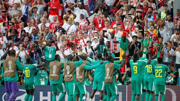 #World2018: Senegal becomes first African nation to win at the tournament, beat Poland 2 - 1