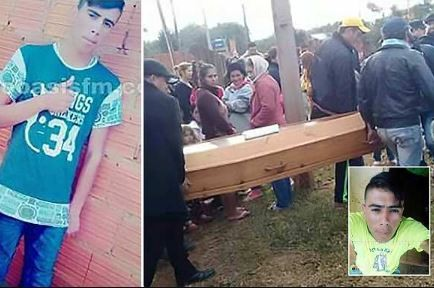 20 year old man walks into own funeral as family buries wrong body in Paraguay