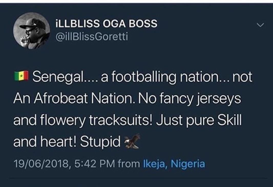 Rapper, Illbliss slams Nigeria