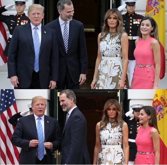 felipe, King Felipe and Queen Letizia of Spain visit the White House while on official visit to the United States