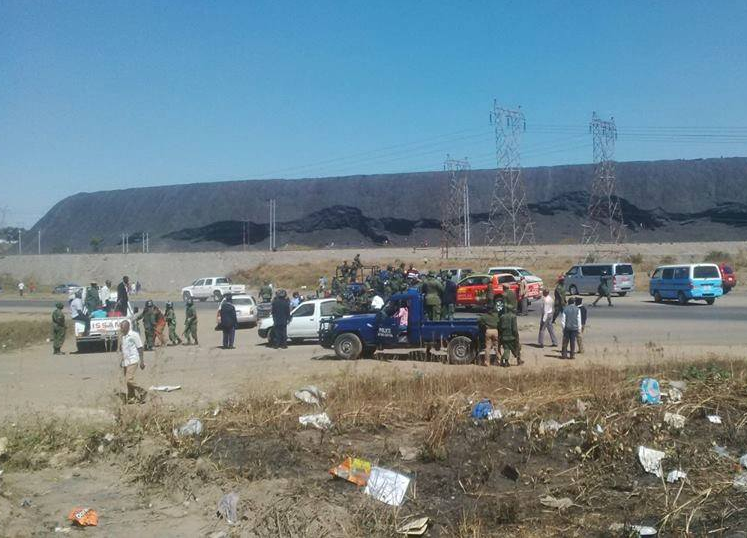 Over 20 feared dead and many others missing?as Black Mountain collapses in Zambia (Photos)