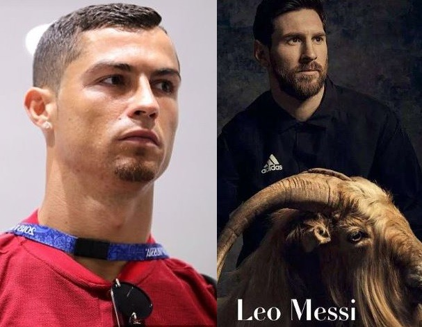 Battle for the G.O.A.T! Cristiano Ronaldo grows a goatee after Lionel Messi