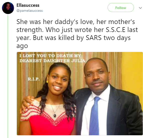 SARS officials allegedly kill young lady and her boyfriend