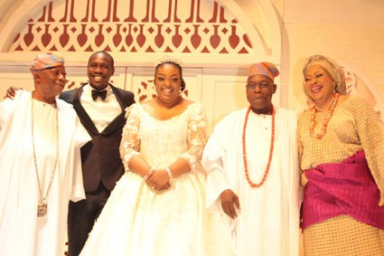 One year after their elaborate wedding, Obasanjo