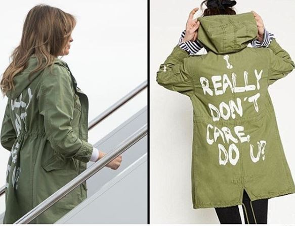 Americans blast Melania Trump for wearing a?controversial