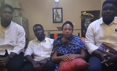 Woman cries out for help after deceased husband