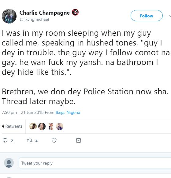 Gay bathroom story