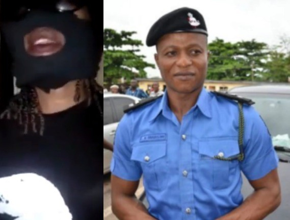 Viral video: Lagos police command debunks masked lady