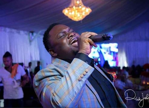 Photos: Gospel singer, Solomon Lange survives terrible car crash