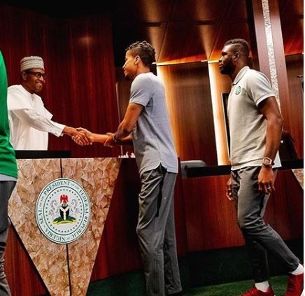 """?With determination, nothing is impossible"""" - President Buhari congratulates Super Eagles for defeating Iceland"""