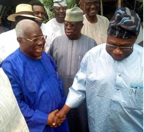 No More Beef! OBJ ends rift with Bode George, pays?him condolence visit over son