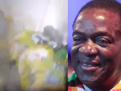 Zimbabwean president, Emmerson Mnangagwa, survives assassination attempt. Two aides die (video)