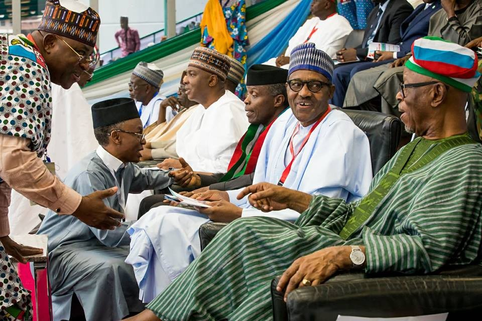 Photos and Full text of President Buhari