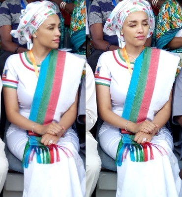 Lovely photos Iara Oshiomole at APC National convention