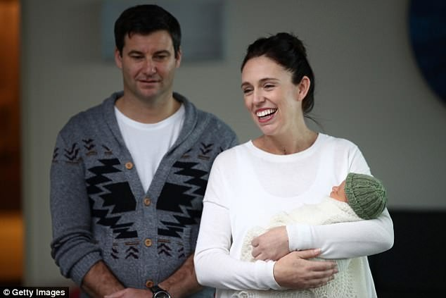 New Zealand Prime Minister Jacinda Ardern introduces her newborn baby daughter Neve Te Aroha Ardern-Gayford to the world?(Photos)