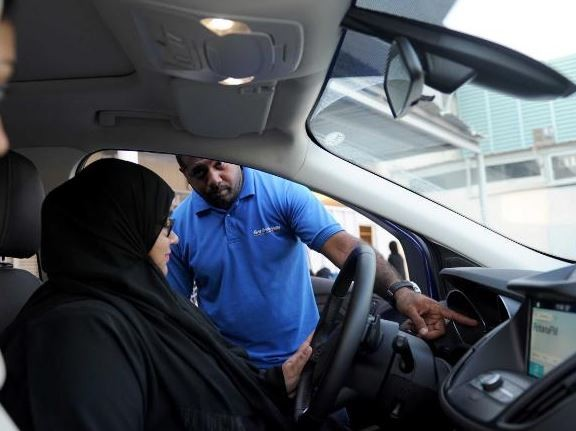 Photos: Finally, women in Saudi Arabia hit the road to?drive legally for the first time ever