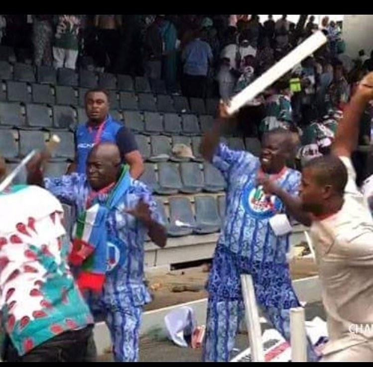 Video of APC members throwing chairs and fighting at the just concluded party National convention in Abuja