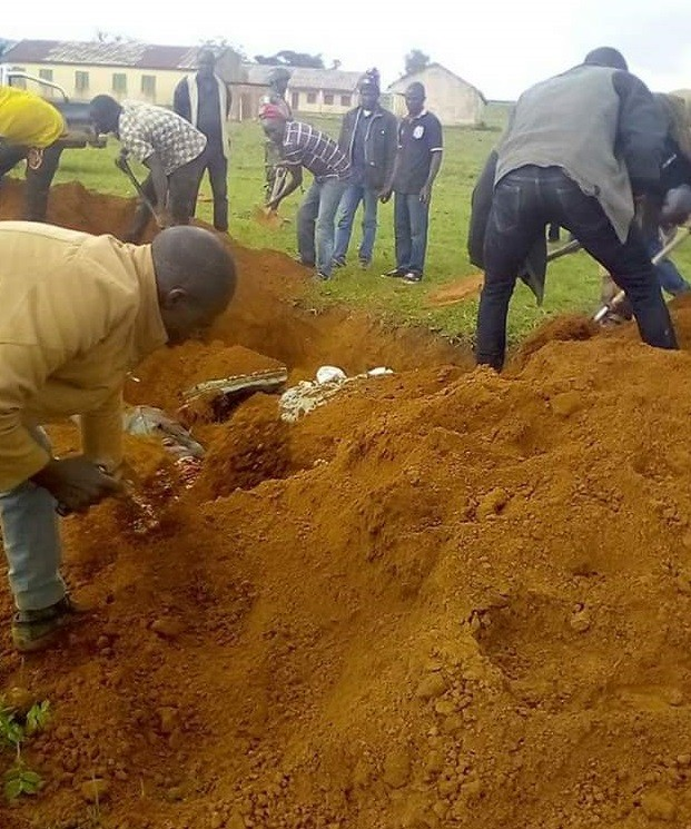 Graphic photos from the mass burial for victims of herdsmen attack in Plateau State