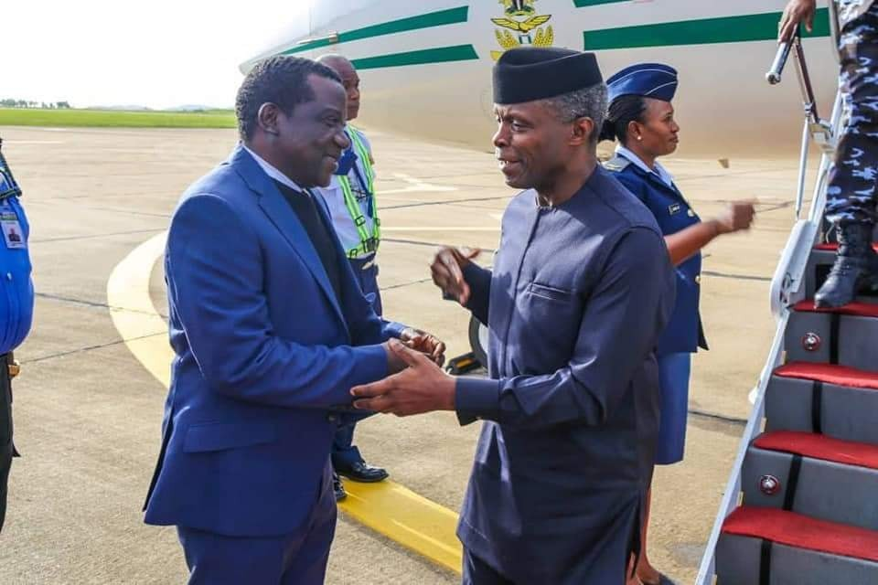 Photos: VP yemi Osinbajo pays condolence visit to Plateau state