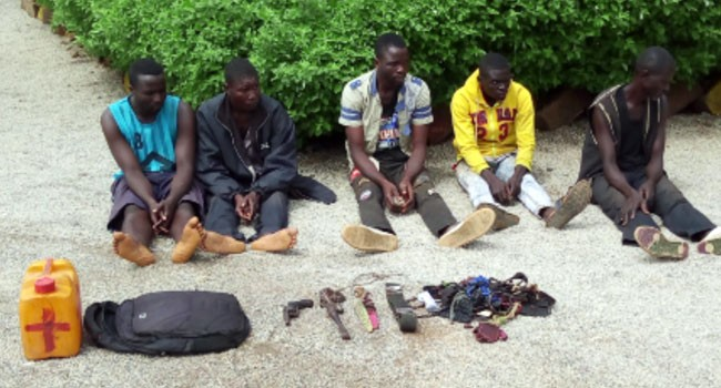 Military arrests five over reprisal on Fulani community in Adamawa(photo)
