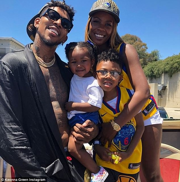 NBA star Nick Young makes red carpet debut with his babymama Keonna Green who he got pregnant while engaged to Iggy Azalea( Photos)